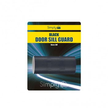 Image for Black Door Sill Guard - 8cm x 5m