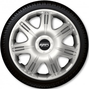 "Image for 16"" Opus Wheel Trims - Silver - Set of 4"