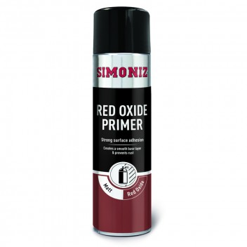Image for Simoniz Red Oxide Spray Paint Primer 500ml