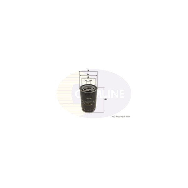 CL-EOF036 - Comline Oil Filter - Wilco Direct