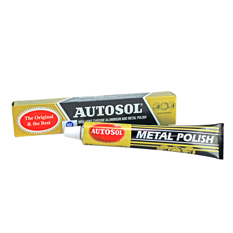 autosol chrome polish 100g tube wilco direct. Black Bedroom Furniture Sets. Home Design Ideas