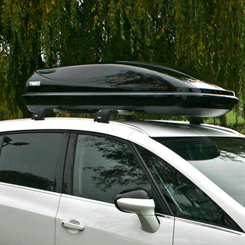 thule ocean 200 car roof box 450 litre black wilco direct. Black Bedroom Furniture Sets. Home Design Ideas